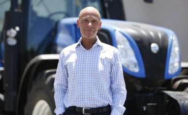 """Marcus Cheistwer: """"El mercado de tractores y de cosechadoras va a crecer entre 10 y 15 por ciento"""""""