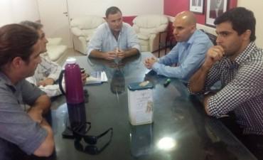 Funcionarios nacionales se reunieron con el Intendente