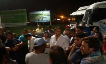 El Intendente Mauro Poletti se reunió con los trabajadores del transporte