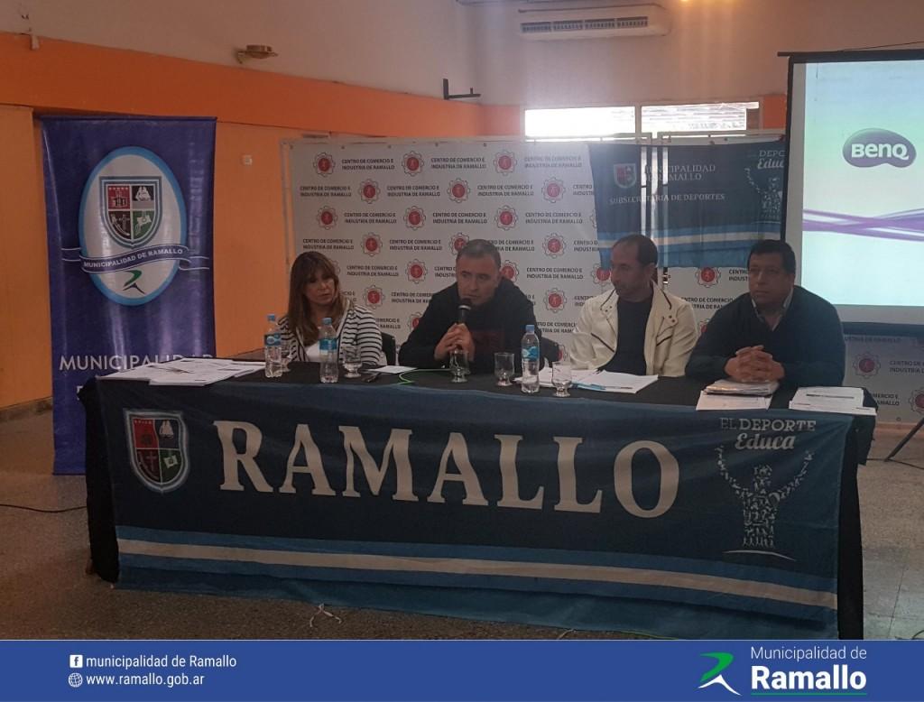 Se realizó la presentación de los Juegos Bonaerenses