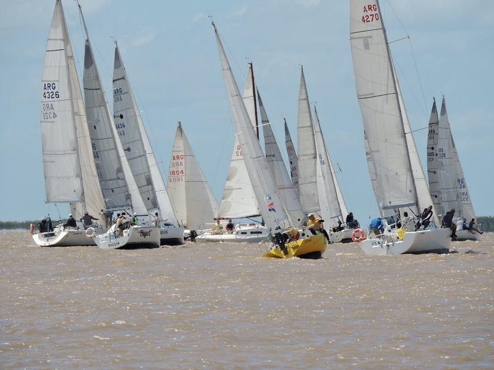 Imponente competencia náutica