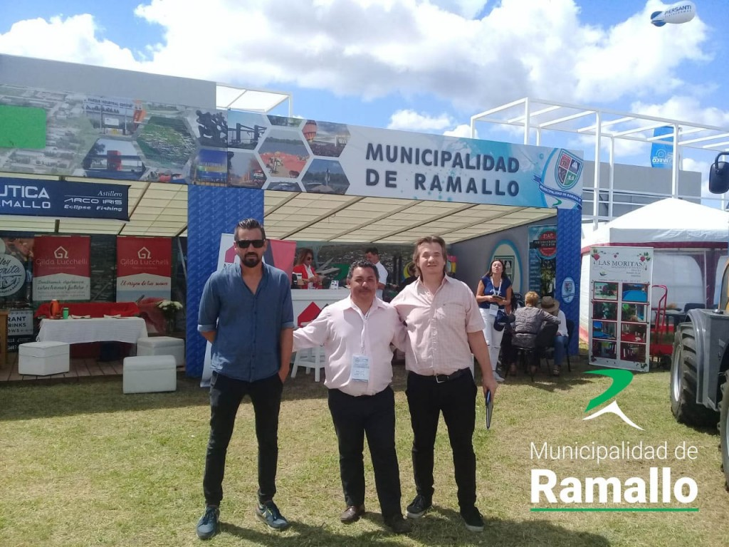 Expoagro 2019: funcionarios locales mantuvieron reuniones con representantes del gobierno de la provincia de Buenos Aires