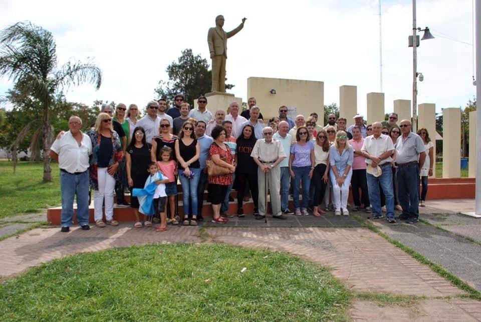 Dirigentes radicales recordaron al presidente Raúl Alfonsín