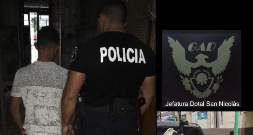 Detenido por evadir un control policial