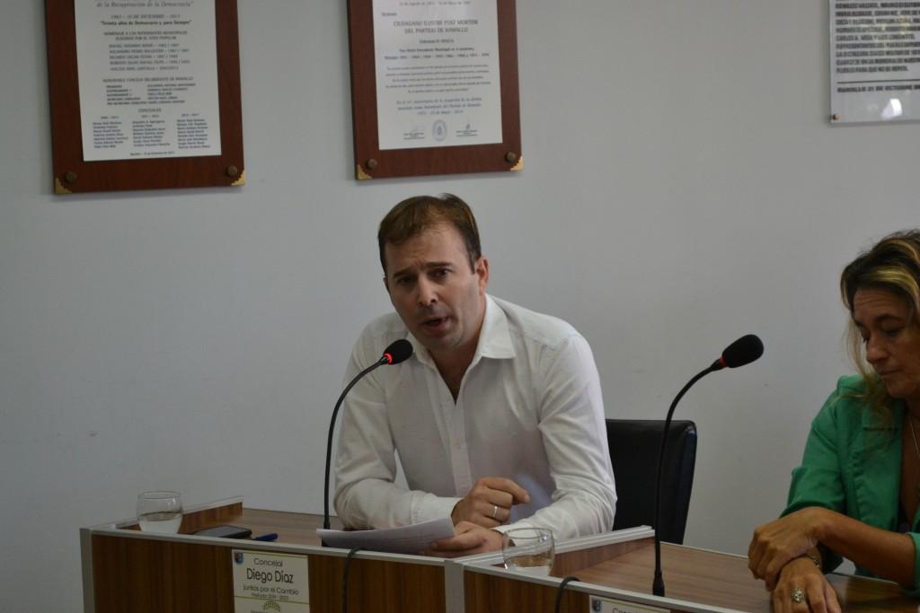 Concejal Díaz