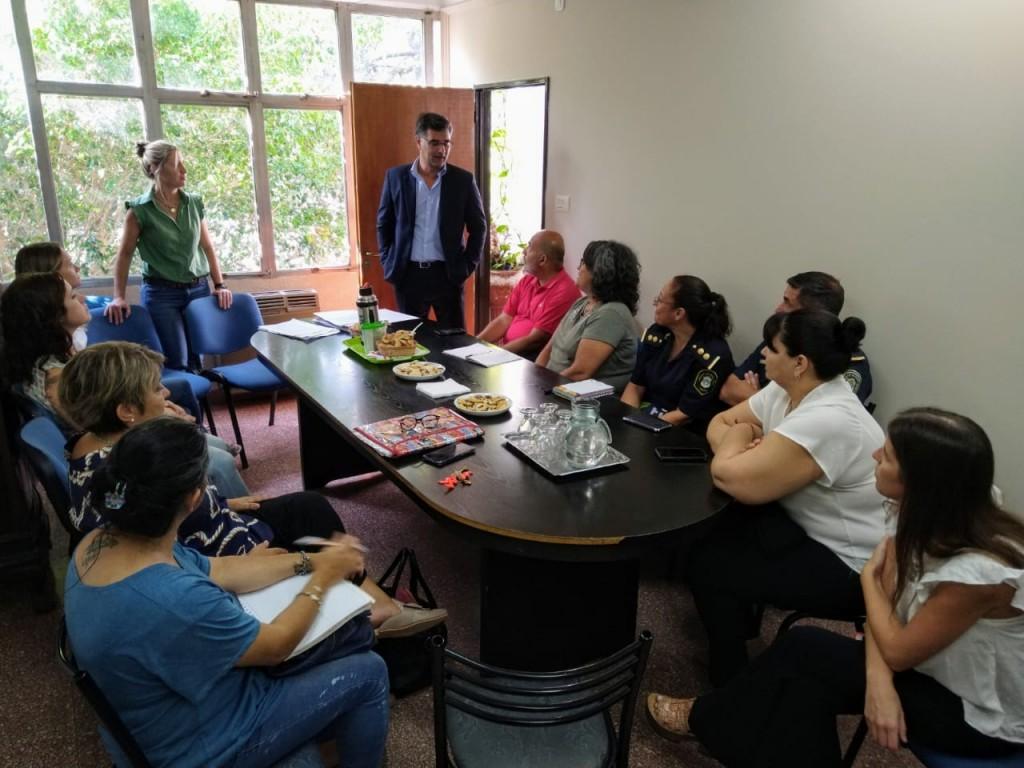 El Intendente Gustavo Perié estuvo presente en el primer encuentro del Consejo Local de Promoción y Protección de Derechos del Niño
