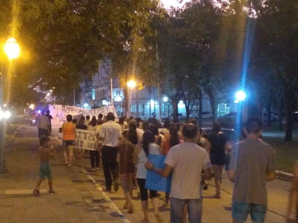 Vecinos y familiares se movilizaron por Eliana Rodríguez
