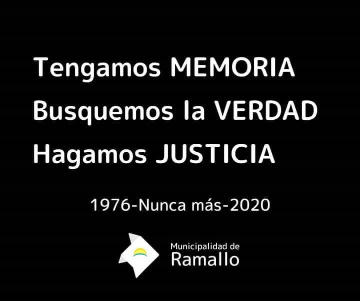 MEMORIA, VERDAD Y JUSTICIA