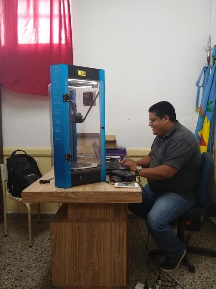 COVID-19: Desde las escuelas técnicas 1 y 2 empezaron a fabricar insumos sanitarios