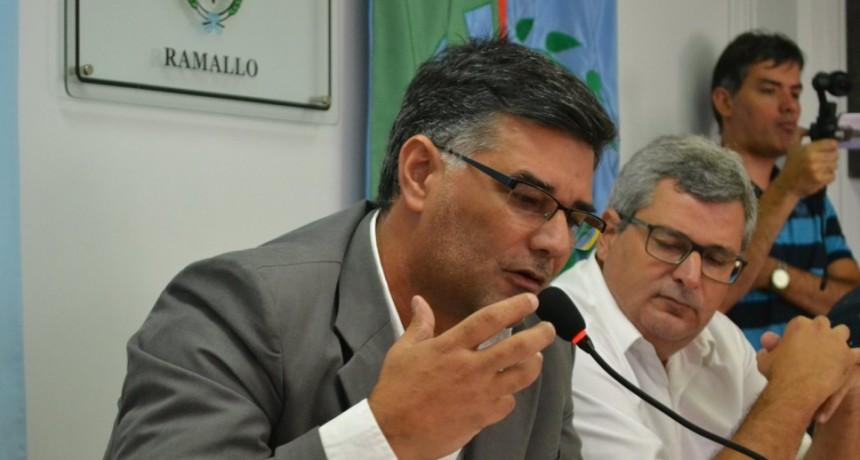 El Intendente Perie apuntó a la gestión anterior y señaló que es muy importante que la presentación judicial de Ternium hacia el municipio no avance