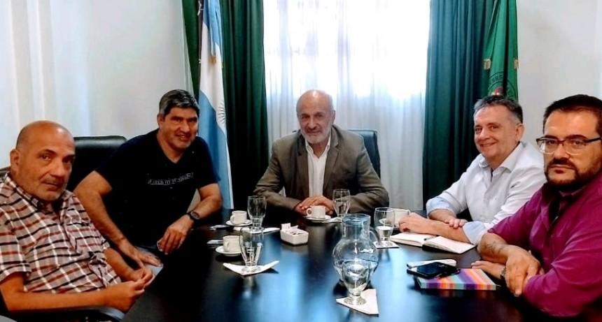 Lescano se reunió con autoridades de la Universidad de Luján