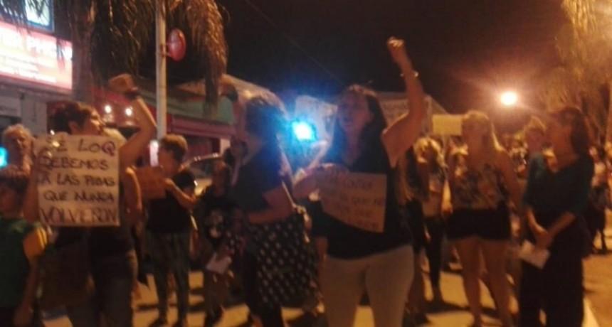 9M: Ramallo se movilizó en la jornada del paro nacional de mujeres