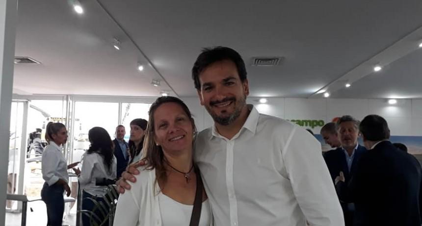 """Sebastián Galmarini- Director Banco Provincia  """"La insistencia de la concejal Maira Ricciardelli, tratando de empujarnos para que acelere el procedimiento fue fundamental"""""""