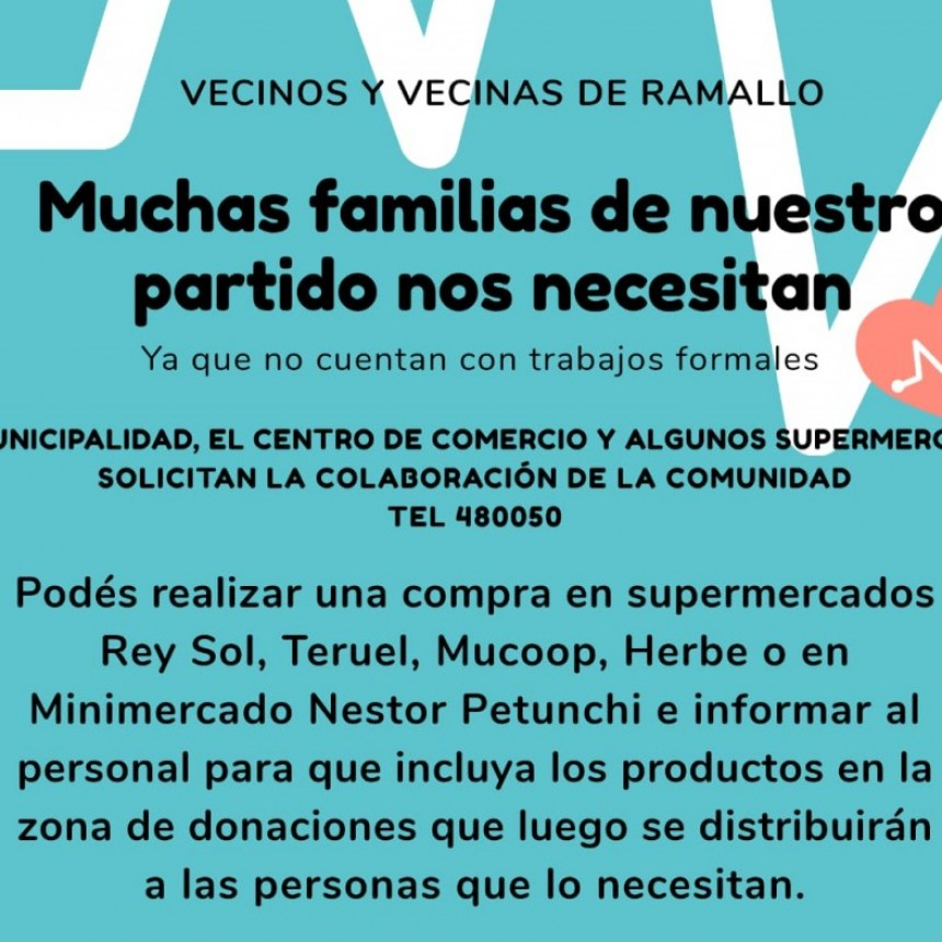 El Centro de Comercio de Villa Ramallo suma otra iniciativa solidaria