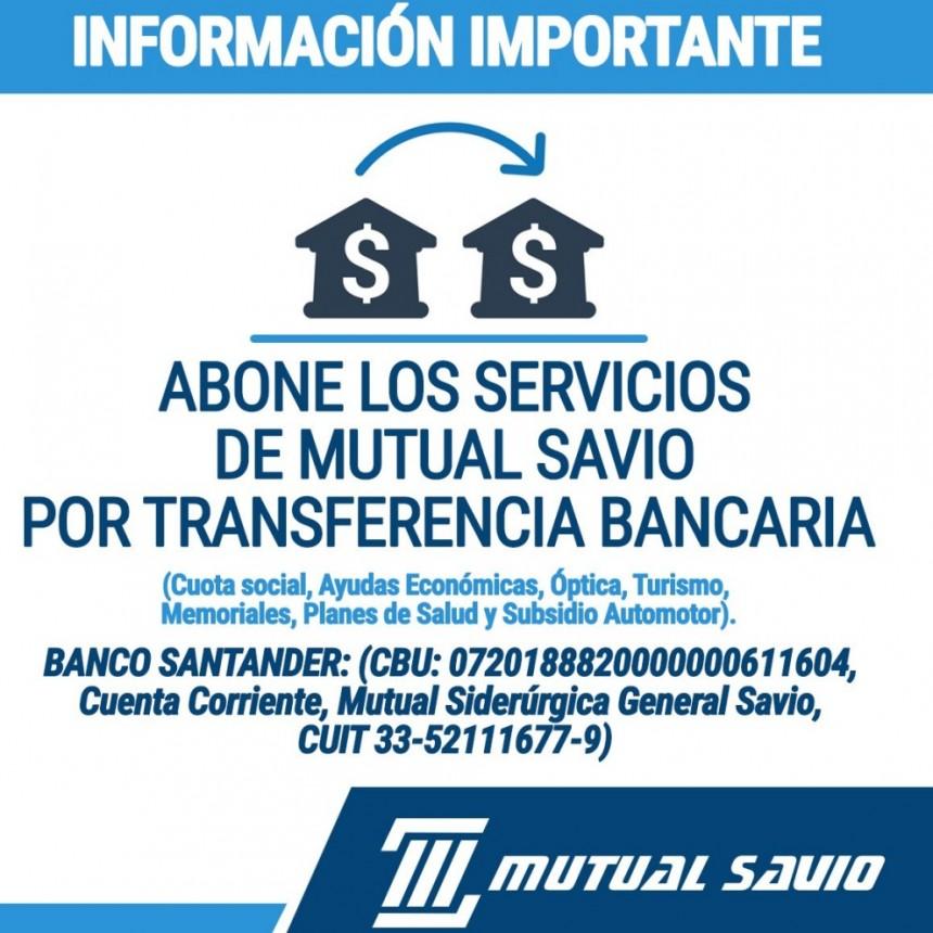 Comunicado: Mutual Siderúrgica General Savio