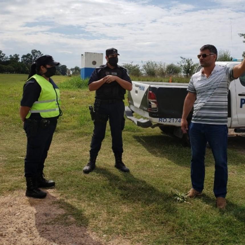 La Municipalidad de Ramallo realizó controles en los accesos de todo el distrito