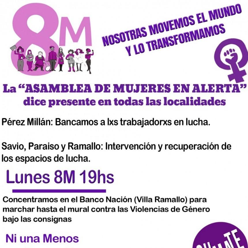 La Casa de la Mujer y la Diversidad se moviliza a Pérez Millán