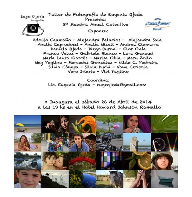 3º Muestra Anual Colectiva de Fotografía