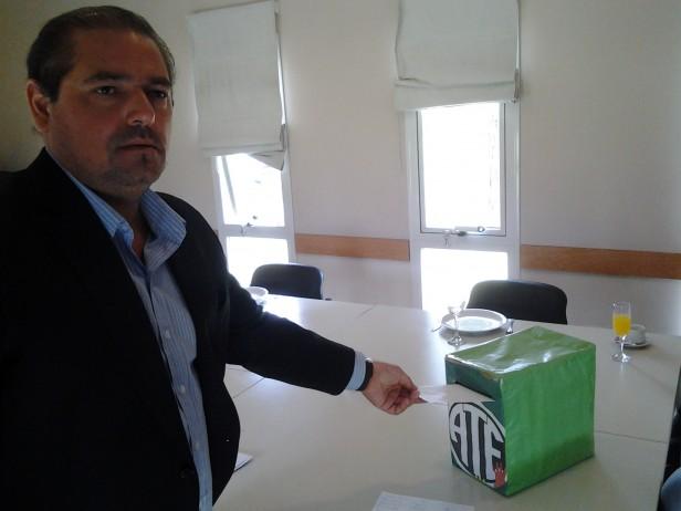 Darío Parlascino fue reelegido como delegado de ATE en el Parque Comirsa