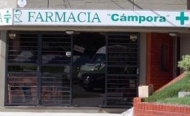 """Robo a la farmacia """"Campora"""": La policía trabaja sobre pistas firmes para detener a los responsables"""