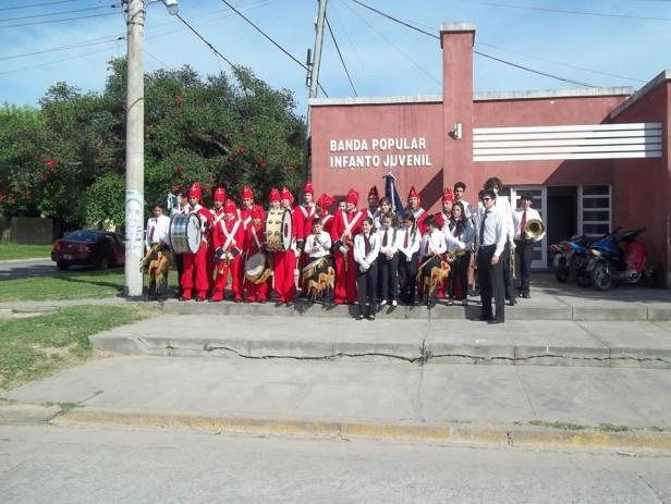 La Banda Popular Infanto Juvenil de Ramallo inaugura una nueva sala