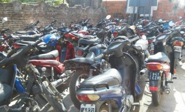Récord de motos secuestradas