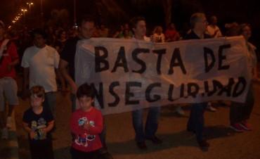 Los vecinos de Ramallo marcharon pidiendo seguridad