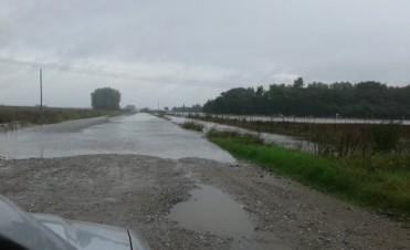Ramallo: más de 120 milímetros cayeron en las últimas horas