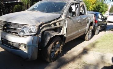 Accidente en el kilómetro 205 de ruta 9