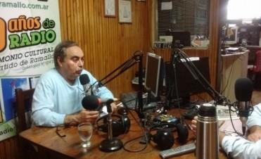 """Ricardo Gorostiza """"Se va a hablar de Bauzas como uno de los mejores delegados de la historia de Villa Ramallo"""""""