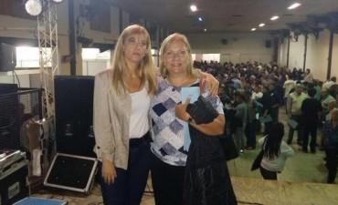 Graciela Rego participó del encuentro del PJ en San Nicolás