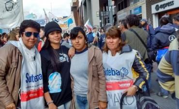 SUTEBA Ramallo dijo presente en la multitudinaria marcha de los trabajadores