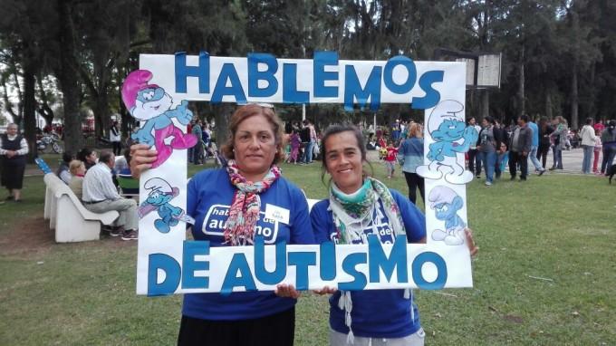 Masiva participación de los vecinos en la jornada de Concientización sobre Autismo