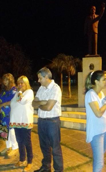 Dirigentes y militantes recordaron a Alfonsín