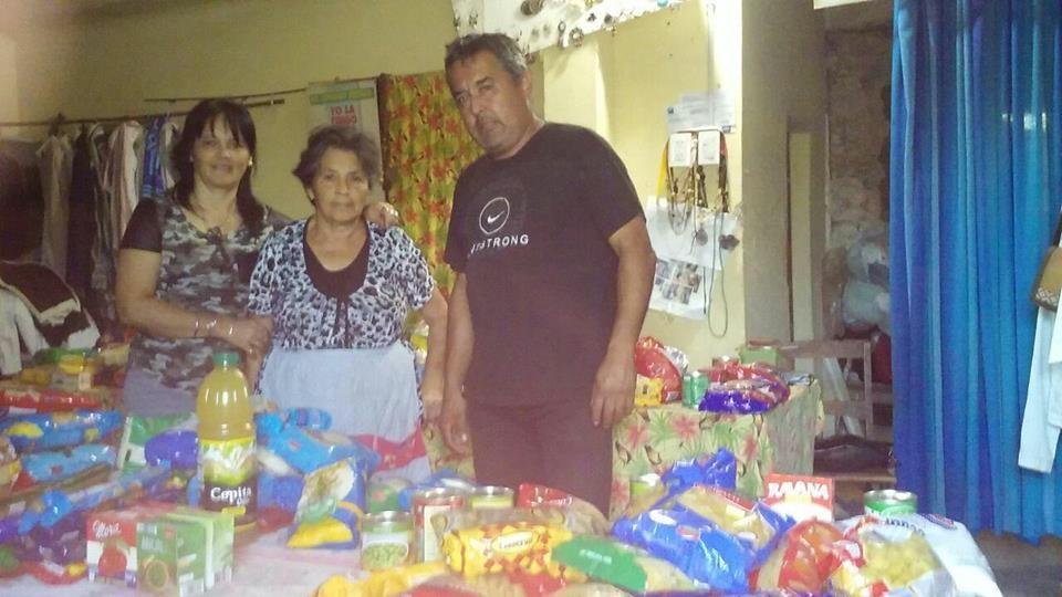 Los Amigos Villa Ramallo hizo entrega de lo donado a la Casita Manos a la Obra