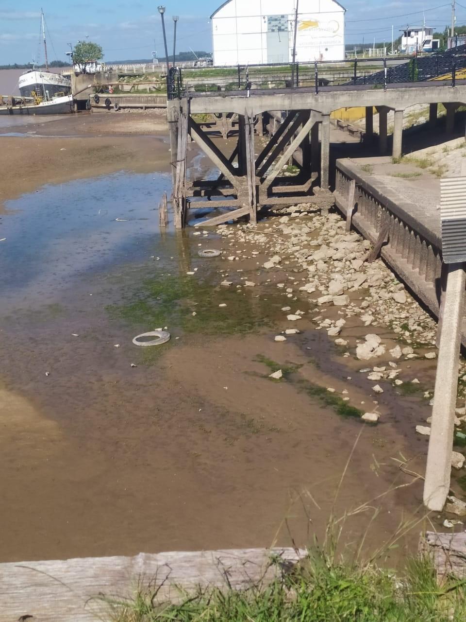 El río Paraná y una bajante que preocupa