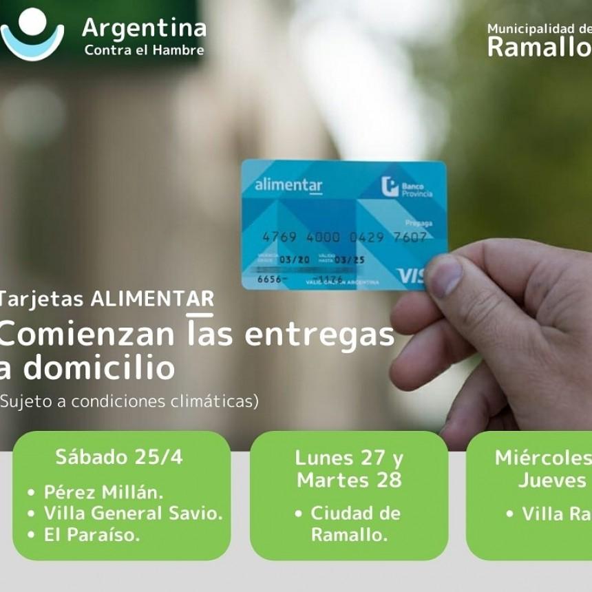 Desde hoy se entregan las tarjetas AlimentAR