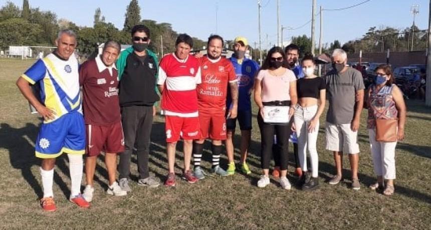 "Liga de Fútbol Veteranos Ramallo: Se inauguró oficialmente el torneo ""Leandro Mansilla"""