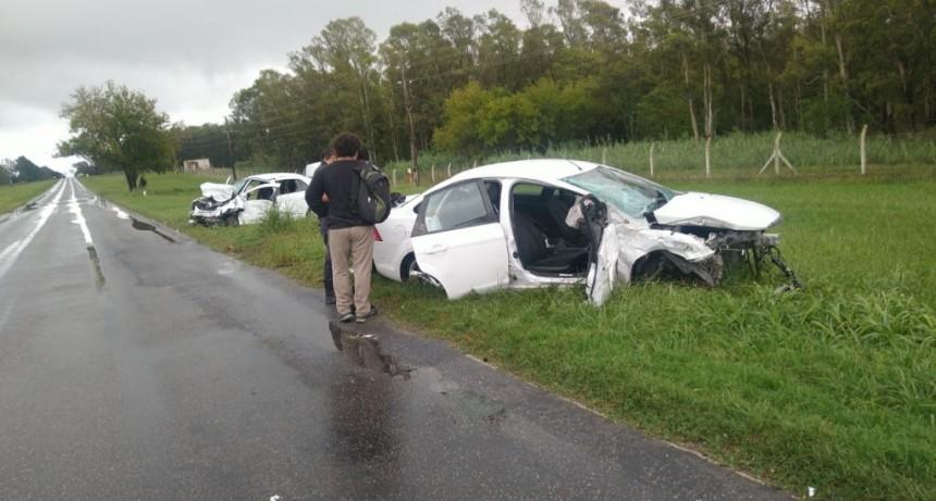 Trágico accidente en el Camino de la Costa