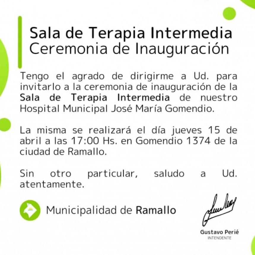Se inaugura la sala de terapia en el Gomendio