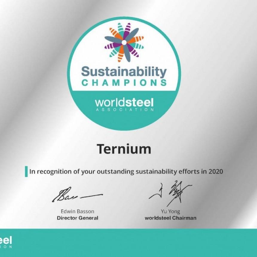 Ternium nuevamente distinguido por la Sustentabilidad