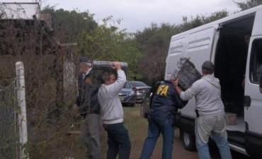 """Incautaron cuatro toneladas de marihuana en un rancho de  """"El Tonelero"""""""