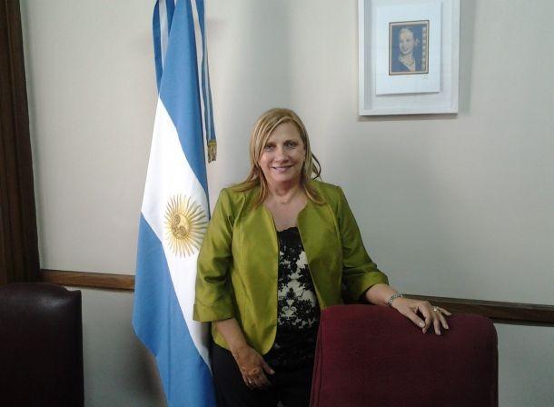 """Graciela Rego: """"Sergio Heredia es el pre candidato a Intendente """""""