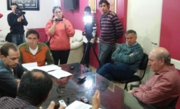 Termas Ramallo:Reunión con integrantes de la ONG