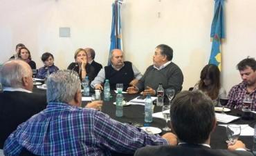 Reunión de la diputada Graciela Rego con el Ministro de Seguridad