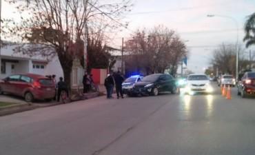 Villa Ramallo: Accidente en la Avenida San Martin