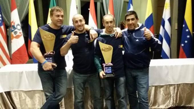 Eduardo López campeón en el sudamericano de Paraguay