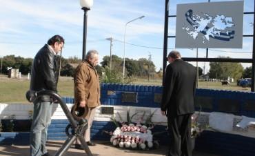 Villa General Savio: Acto homenaje a Carlos Angel González