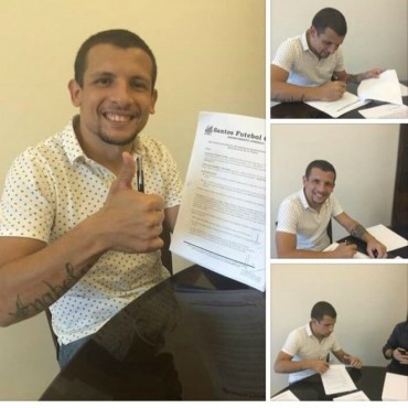 Vecchio firmó contrato con Santos de Brasil