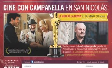 Cine gratis con Campanella en San Nicolás